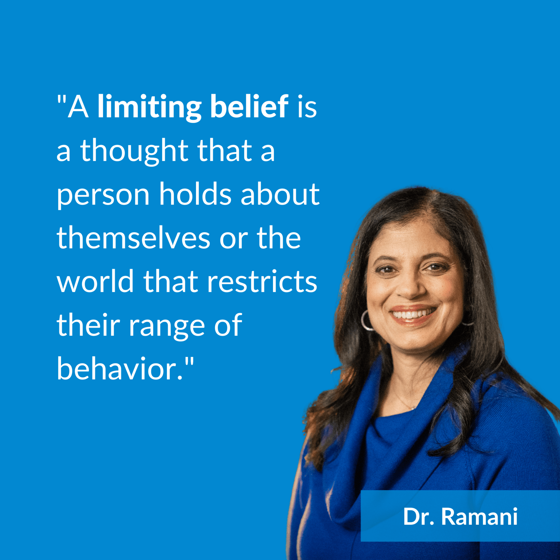 what is a limiting belief